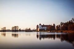 Mir Castle wit-rusland Stock Foto's