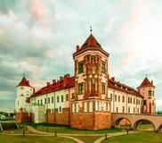 Mir Castle, Wit-Rusland, 1520 royalty-vrije stock afbeelding