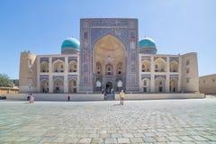 Mir-i-Arab Madrasa in Bukhara Buxoro, Uzbekistan Royalty Free Stock Photo