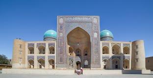 Mir-i-Arab Madrasa in Bukhara Buxoro, Uzbekistan Stock Image