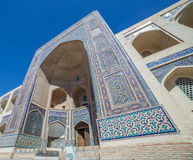 Mir-i-Arab Madrasa in Bukhara Buxoro, Uzbekistan Royalty Free Stock Photos