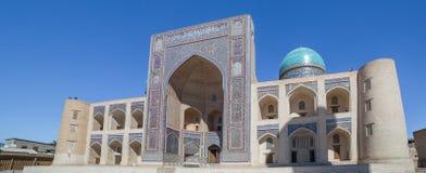 Mir-i-Arab Madrasa in Bukhara Buxoro, Uzbekistan Royalty Free Stock Image
