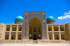 Mir-i Arab madrasah. Element of the Kalyan ensemble. BuKhara. Uzbekistan Stock Images