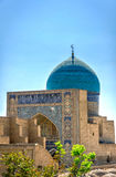 Mir i Arab madrassa, Bukhara. Dome on Mir i Arab madrassa, Bukhara, Uzbekistan Royalty Free Stock Image