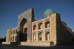 MIR-ich-Araber madrasa Stockfoto