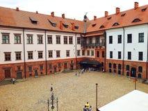 Mir kasztelu kompleks w Białoruś Obrazy Stock