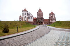 MIR-Schloss Stockfotografie