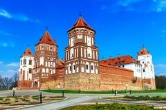 MIR-Schloss-Komplex Stockfotos
