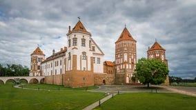 Mir-slott, Vitryssland Arkivfoto