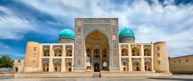 MIR-yo árabe Madrasa en el complejo del Poi Kalyan en Bukhara, Uzbekistán Fotos de archivo