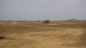 Miraż w pustyni fotografia royalty free