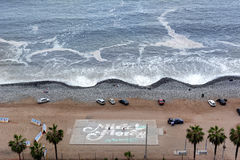 Mira Flore Beach Imagen de archivo