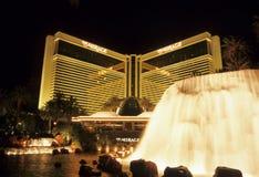 mirażowy fontanna kurort zdjęcia stock