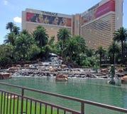 Mirażowy hotel Obrazy Royalty Free