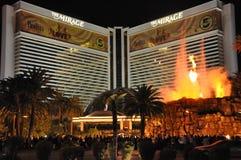 Mirażowy hotel i kasyno w Las Vegas Zdjęcie Royalty Free