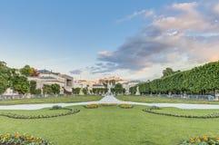 Mirabell Garden (Mirabellgarten) in Salzburg Royalty Free Stock Photo