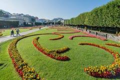 Mirabell Garden (Mirabellgarten) in Salzburg, Austria Stock Photo