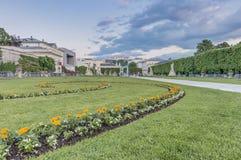 Mirabell Garden (Mirabellgarten) at Salzburg, Austria Royalty Free Stock Images