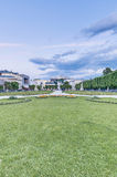 Mirabell Garden (Mirabellgarten) at Salzburg, Austria Royalty Free Stock Photo