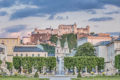 Mirabell Garden (Mirabellgarten) at Salzburg, Austria Royalty Free Stock Photos