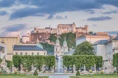 Mirabell Garden (Mirabellgarten) at Salzburg, Austria Royalty Free Stock Photos