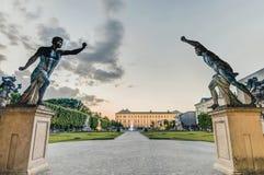 Mirabell Garden (Mirabellgarten) at Salzburg, Austria Stock Images