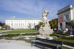 Mirabell garden in Salzburg, Austria Stock Photography