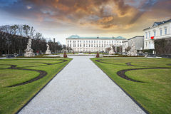 Mirabell Garden of Salzburg, Austria Stock Photos