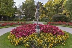 Mirabell garden statue in Salzburg, Austria Stock Image