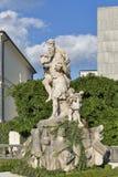 Mirabell garden statue in Salzburg, Austria Stock Photography
