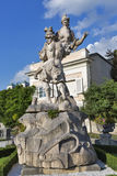 Mirabell garden statue in Salzburg, Austria Stock Photos