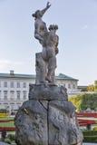 Mirabell garden statue in Salzburg, Austria Royalty Free Stock Images