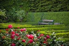 Mirabell gardens Stock Photos
