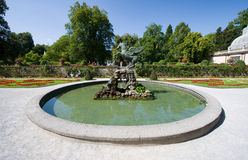 Mirabell gardens Stock Images