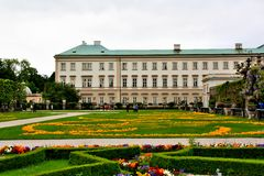 Mirabell Gardens Stock Photography