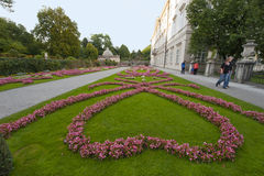 Mirabell Gardens Royalty Free Stock Photography