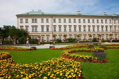 Mirabell gardens in salzburg. The Mirabell Gardens in the salzburg in 2011 summer Stock Photography