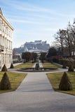 Mirabell Gardens. Salzburg, Austria Stock Photos