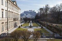 Mirabell Gardens in Salzburg, Austria Stock Image
