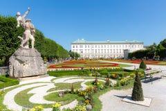 Mirabell Gardens Salzburg, Austria Stock Image