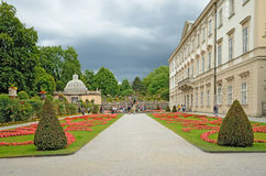 Mirabell Gardens in Salzburg, Austria Stock Photos