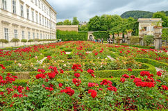 Mirabell gardens in Salzburg, Austria. Royalty Free Stock Photography