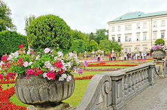 Mirabell gardens in Salzburg, Austria. Royalty Free Stock Photos