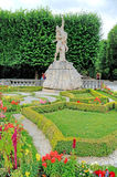 Mirabell gardens in Salzburg, Austria. Stock Photography
