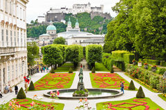 Mirabell Gardens in Salzburg, Austria Royalty Free Stock Photography
