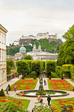 Mirabell Gardens in Salzburg, Austria Stock Photography