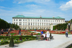 Mirabell  Gardens in Salzburg Stock Images