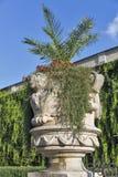Mirabell gardens vase statue in Salzburg, Austria Royalty Free Stock Photography