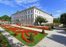 mirabell ogrodowy pałac Salzburg Zdjęcie Royalty Free