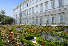 Mirabell palace Royalty Free Stock Images